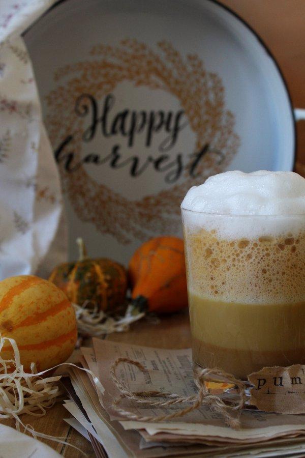 Pumpkin spice latte speziato