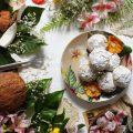 Biscotti crinkles al cocco e mandorle vegan