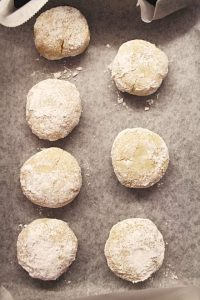 procedimento biscotti crinkles