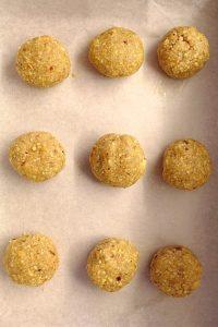 Snowball cookies senza burro 1