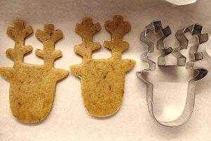 Rudolph cookies senza uova senza burro 1