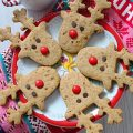 Rudolph cookies senza uova senza burro 8