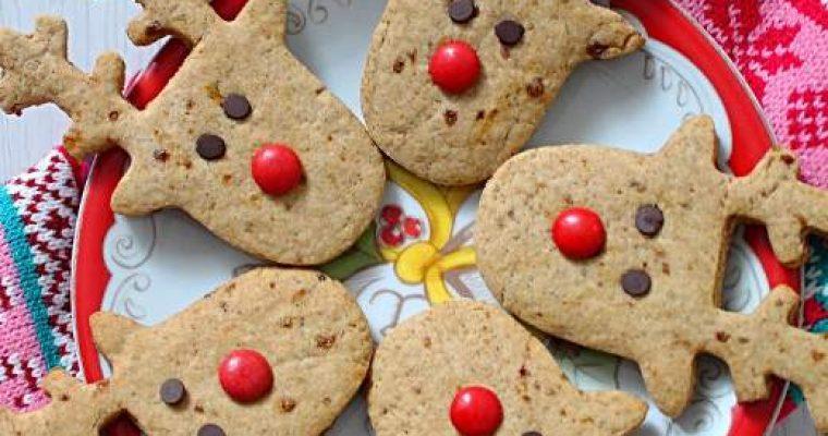 Rudolph Cookies senza uova senza burro