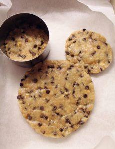 Giant Cookie Topolino(Mickey Mouse) procedimento