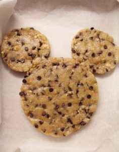 Giant Cookie(Mickey Mouse)vegan procedimento