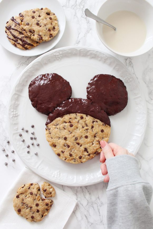 Mickey Mouse (Topolino) Giant Cookie vegan
