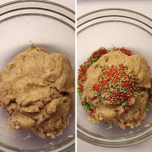 Funfetti Shortbread bites senza burro 8