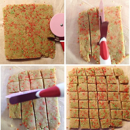 Funfetti Shortbread bites senza burro 9