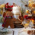 Gingerbread latte con latte vegetale