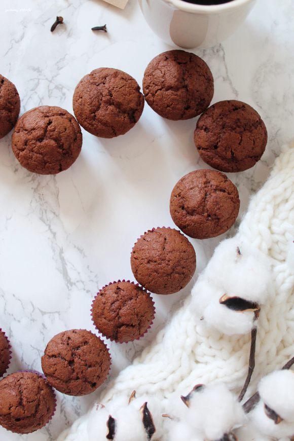 Muffins al cioccolato vegan