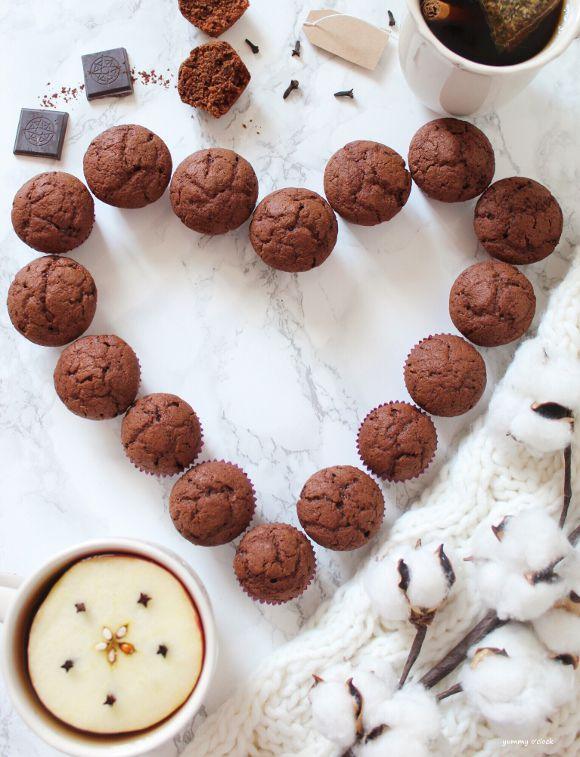 Mini Muffins al cioccolato vegan