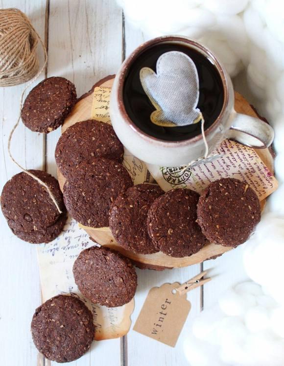 Biscotti simil Grancereale al cioccolato vegan homemade