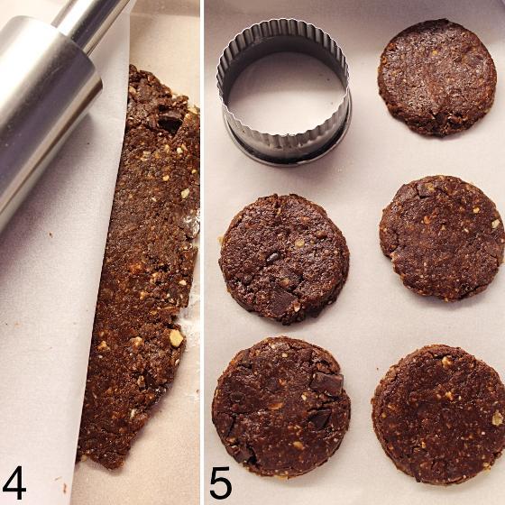 Biscotti simil Grancereale al cioccolato vegan 6