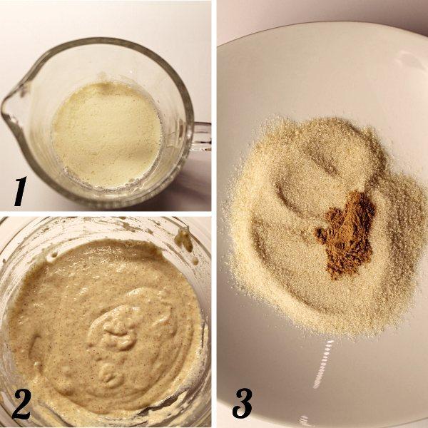 Apple ring pancakes vegan 4