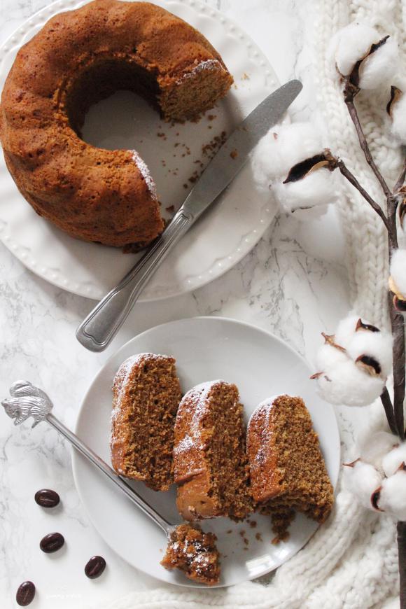 Ciambella cappuccino con zucchero integrale