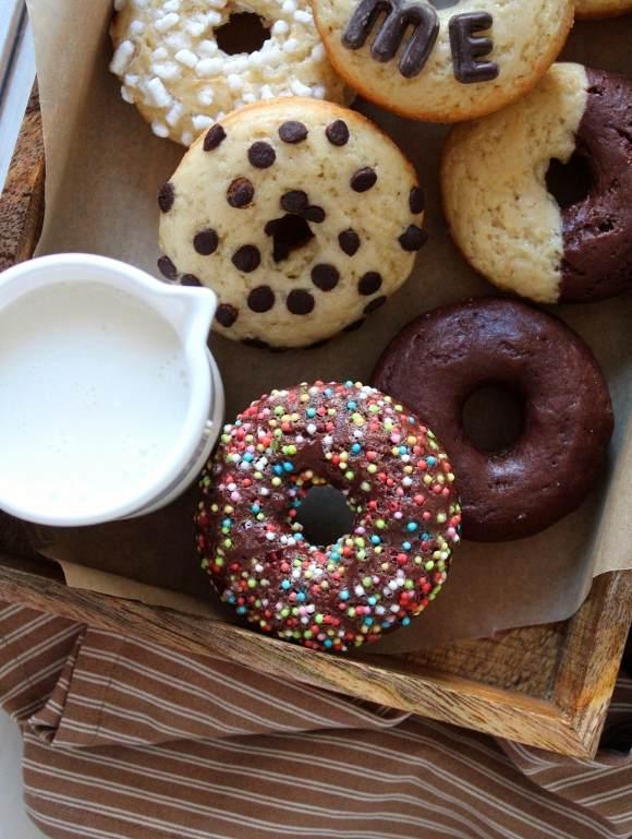 Donuts al forno senza uova senza burro