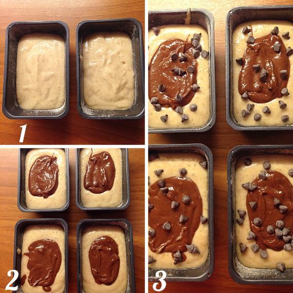 Mini plumcake vaniglia e cacao vegan 5