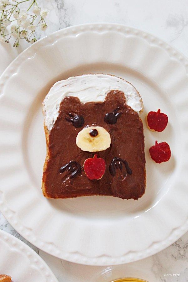 French toast art