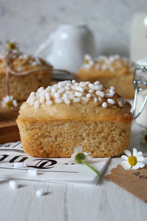 Mini plumcake simil buondì con latte vegetale