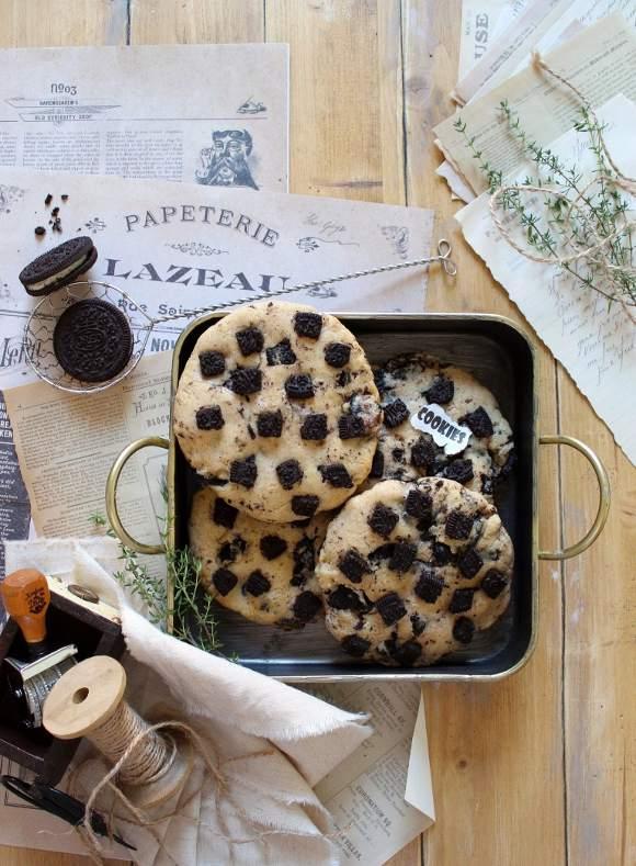 Oreo Cookies and cream biscotti senza uova senza burro