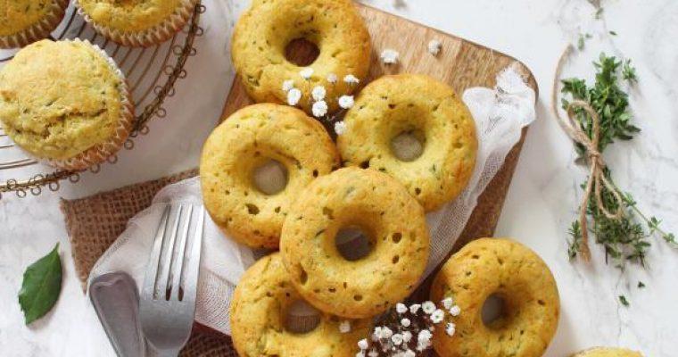 Muffin e Ciambelle alle zucchine senza uova
