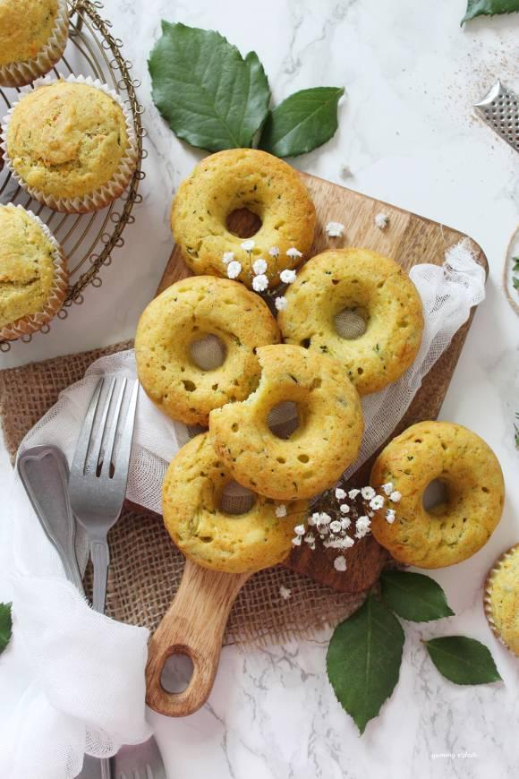 Muffin e Ciambelle alle zucchine e formaggio
