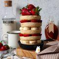 Pancakes con latte vegetale senza uova