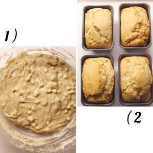 procedimento impasto per mini plumcake