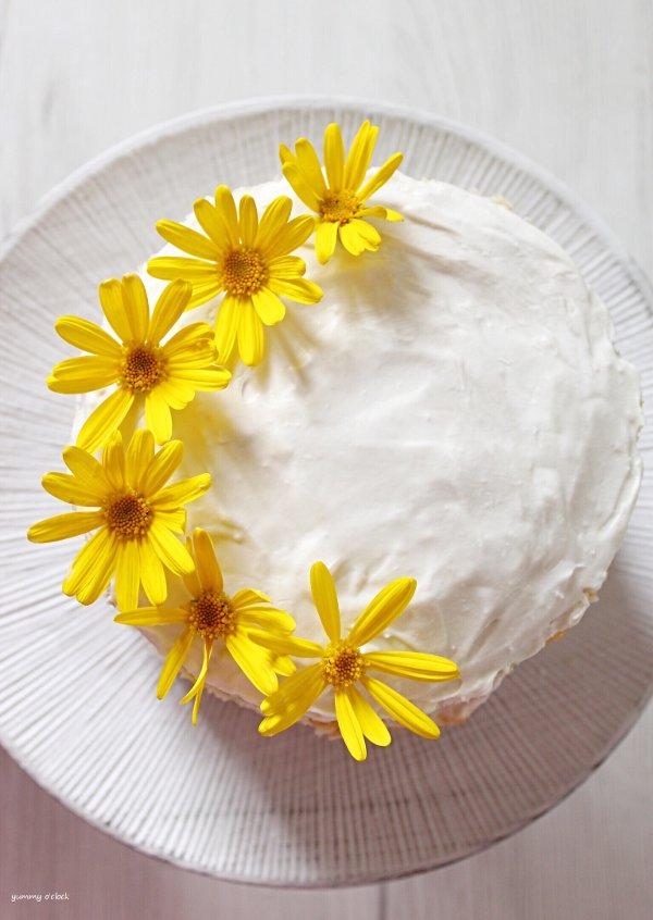 Naked sprinkles Cake senza uova senza burro