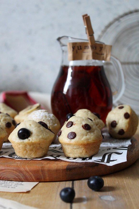 Pancake Mini Muffins vegani