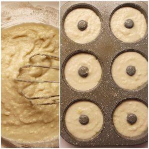 Ciambelle al Cocco e Limone al forno senza glutine vegan preparazione