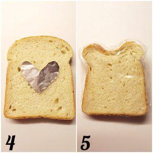 preparazione toast