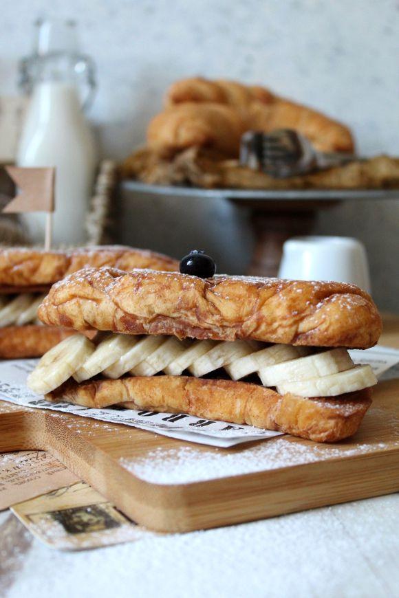 cornetti French Toast veloci senza uova