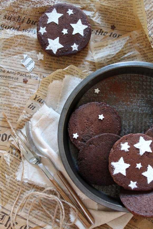 Pancake cacao nocciole vegan