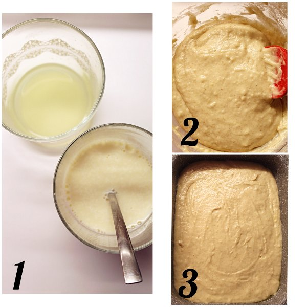 Brownies al limone (Lemonies) senza lattosio senza uova procedimento