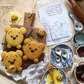 Biscotti con Farina di Mais Winnie Pooh senza uova senza burro
