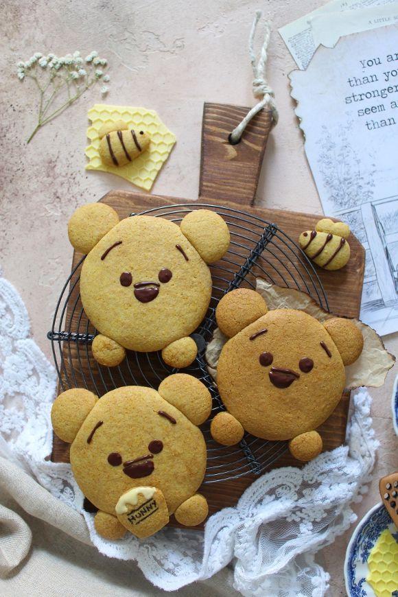 Biscotti Winnie Pooh senza uova senza burro