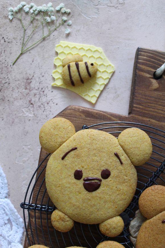 Biscotti con Farina di Mais Winnie the Pooh senza uova senza burro