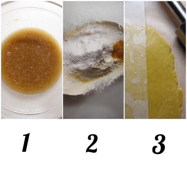preparazione Biscotti con Farina di Mais Winnie Pooh senza uova senza burro