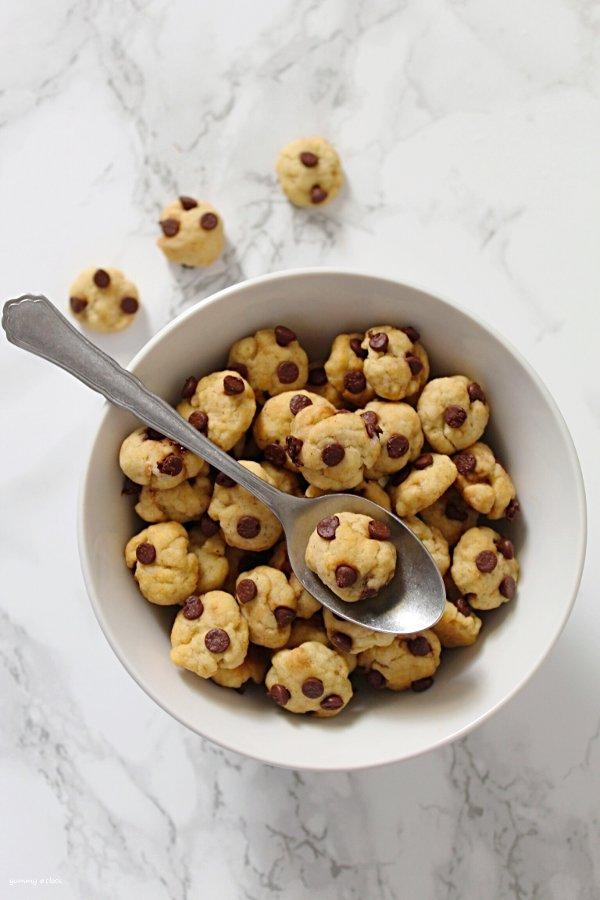 Cereali Croccanti tipo Cookies con chocolate chip
