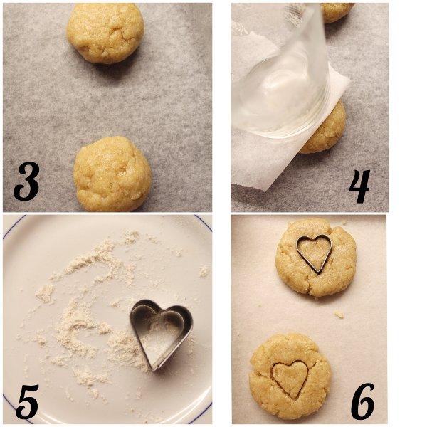 Biscotti alle Mandorle vegan procedimento