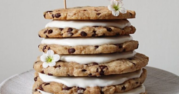 Torta Cookies senza uova senza burro