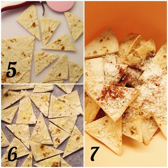 chips piadina procedimento