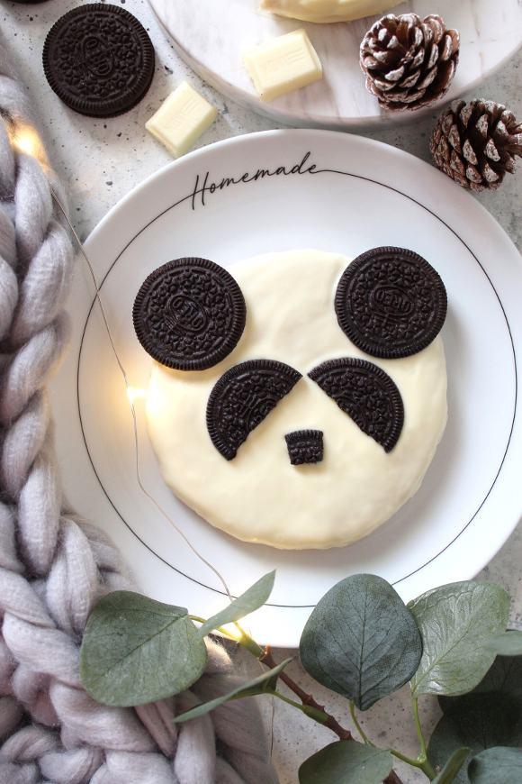 Biscotti Panda senza uova