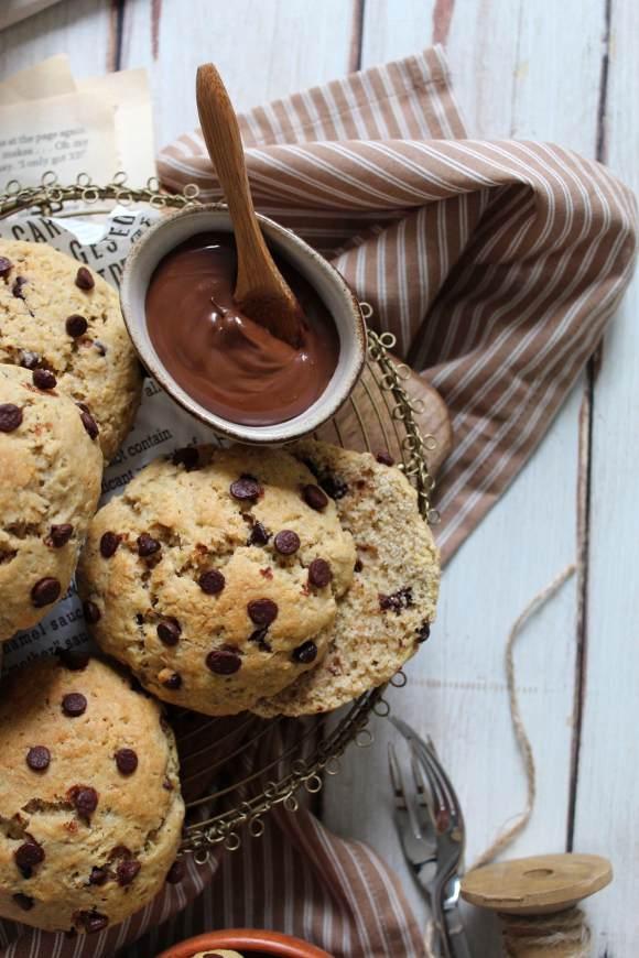 Panini con gocce di cioccolato Vegan al latticello di soia