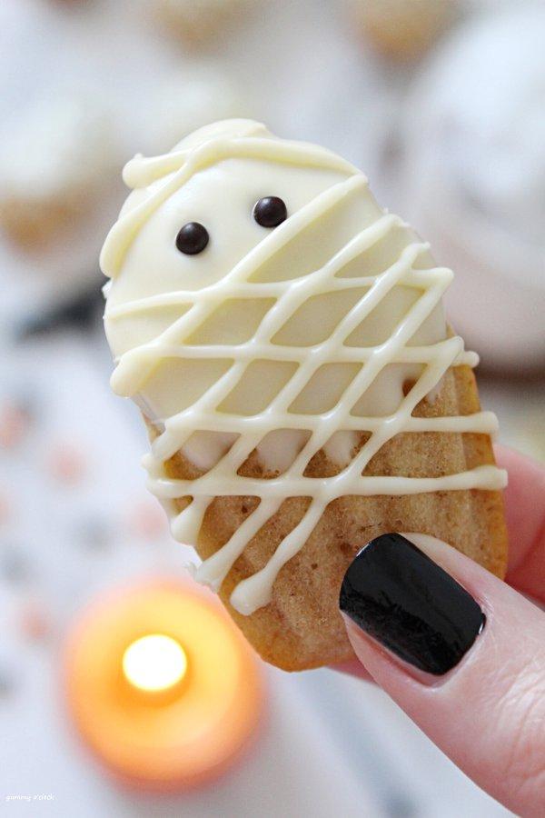 Madeleine Mummia di Halloween senza uova