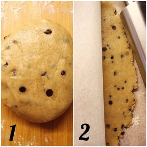 Biscotti simil Gocciole Wild con farina integrale senza burro preparazione