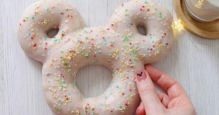 Mickey Mouse (Topolino) Donut Cookie senza lunghi tempi di lievitazione senza uova homemade