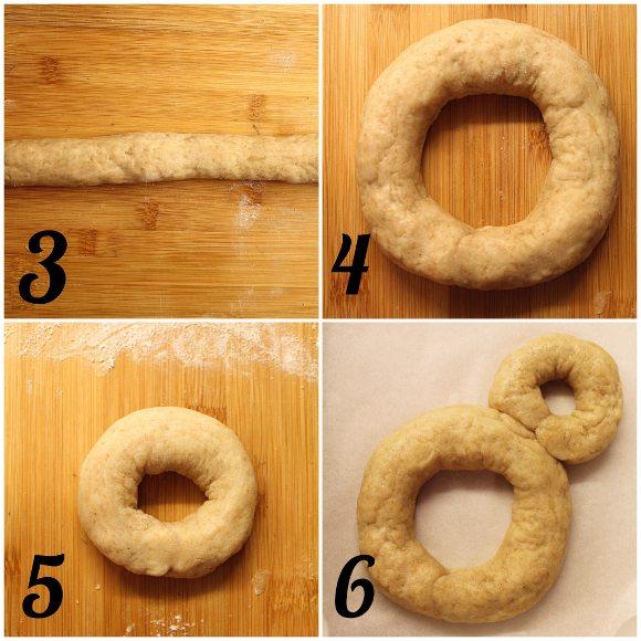 Mickey Mouse (Topolino) Donut Cookie senza lunghi tempi di lievitazione senza uova procedimento