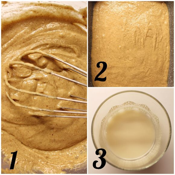 Tortine di pan di zenzero (Gingerbread) con crema di ricotta senza panna senza uova preparazione